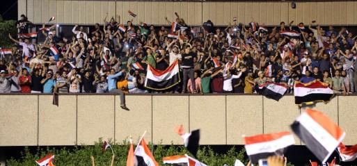 Iraq: Demanding gov't reform, Sadrists storm parliament