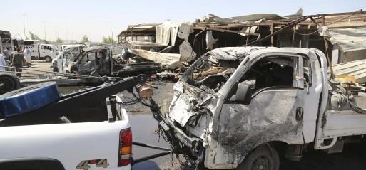 Iraq: Suicide bombing kills 8 in Baghdad