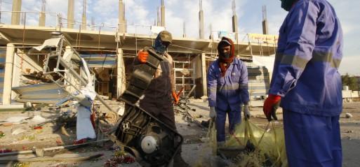 Iraq: 5 people killed in Baghdad blasts
