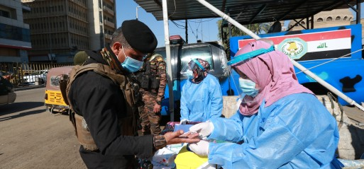 Iraq: More than 300 children contract COVID-19 strain