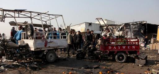 Iraq: Suicide bombing in eastern Baghdad market kills 6