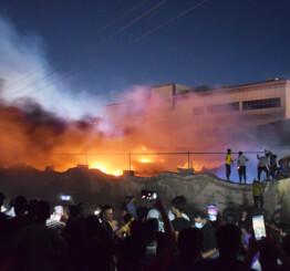 Iraq: 50 died in a fire in Covid ward of Nasiriya hospital