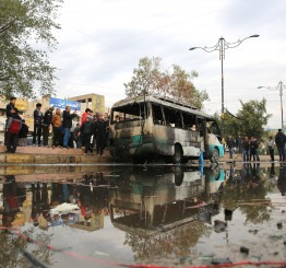 Iraq: 4 police killed in suicide bombing in Samarra