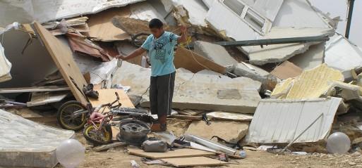 Israel demolishes al-Araqib village for 184th time