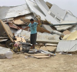 Palestine: Bedouin children school in Jerusalem faces Israeli demolition