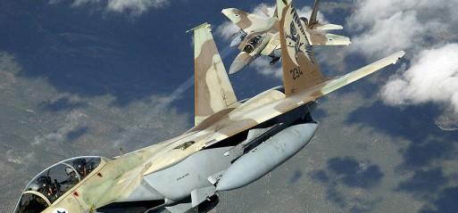 Syria: Israeli warplanes strike targets in Syria