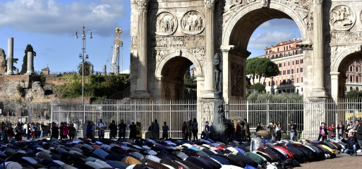Italy: Muslims demand Italy recognizes more mosques