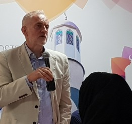 Mosque critical in helping Grenfell Tower fire survivors, says Corbyn