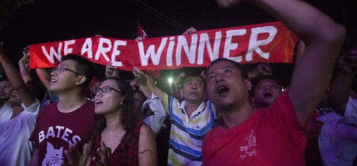 Myanmar: Opposition confident of election victory