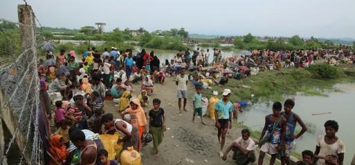 Myanmar: Rohingya Muslim schools, shops set on fire