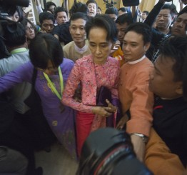 Myanmar welcomes first democratic gov't in 50 years