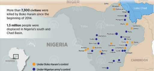 Nigeria: 8 killed, 8 injured in mosque suicide bomb attack