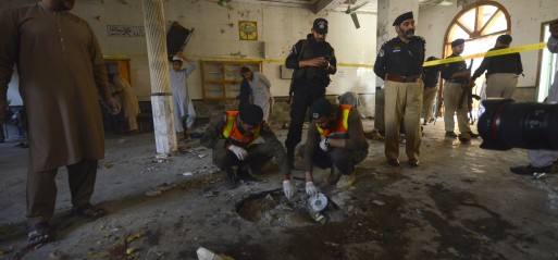 Pakistan: Explosion at Islamic Seminary kills 7 children, wounds123 in Peshawar