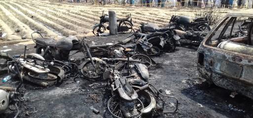 Pakistan: Death toll in oil tanker fire rises to 157