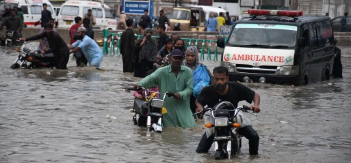 Pakistan: 58 dead, 100s villages submerged in monsoon rains