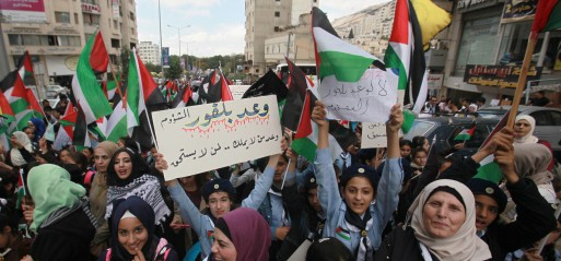 Palestinians decry 100-year-old Balfour Declaration, ask for compensation from UK