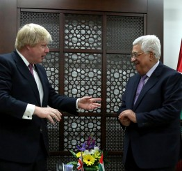 Palestine: Palestine leader meets UK foreign secretary in Ramallah