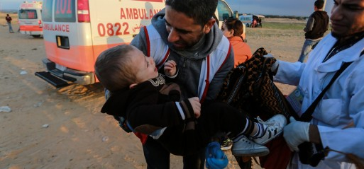Palestine: Gazans converge along Israel buffer zone, 4 killed