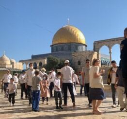 Palestine: Flag-waving Israeli settler storms Al-Aqsa complex; 1000 settler incursions in a week