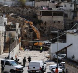 Palestine: Israel demolishes Palestinian home in East Jerusalem's Silwan