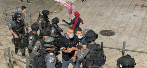 Violence against Palestinian worshippers 'not acceptable,' says Johnson