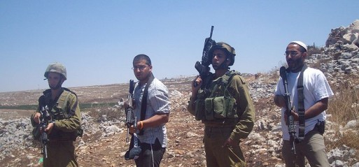 Palestine: Jewish settlers torch West Bank farmland