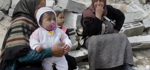 Palestine: Israel demolishes Palestinian buildings in W Bank
