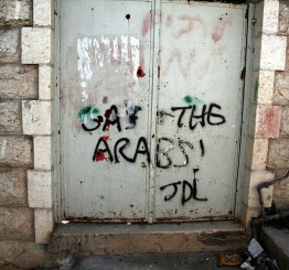 Palestine: Jewish settlers deface Palestinian homes in West Bank