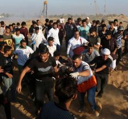 Palestine: Israeli forces kill Gaza protestor, wound dozens