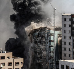 26 Palestinians, incl 5 children killed in Israeli attacks on Gaza; total killed 163