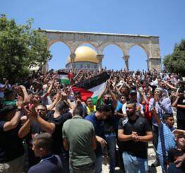 Israeli forces injure 2 Palestinians inside Al-Aqsa Mosque complex
