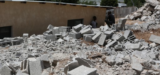 UN: West Bank witnessing largest demolition in years by Israel