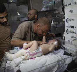 Israel intense bombings in Gaza has killed 197 Palestinians incl 58 children