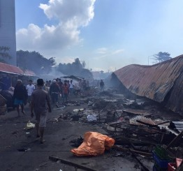 Philippines: Fire kills 15 in Zamboanga City market