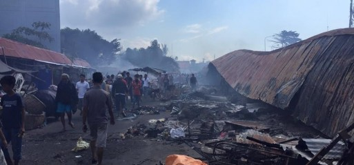 Philippines: Fire kills 15 in Zamboanga City market