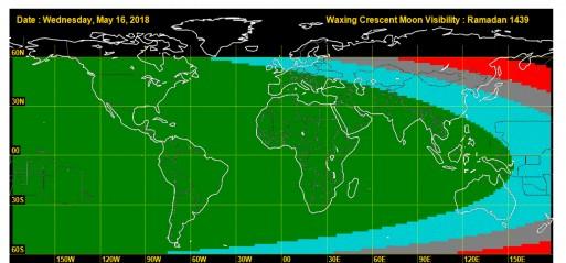 UK: Moon sighting for Ramadan