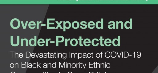 BAME people over-exposed and under-protected from Covid-19