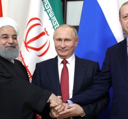 Russia, Turkey, Iran back Syria's territorial integrity