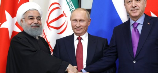 Russia, Turkey, Iran back Syria's territorial integrity