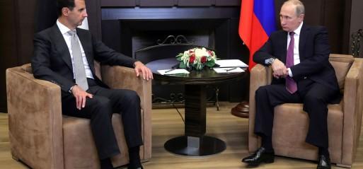 Russian President hosts Syria's Assad in Sochi