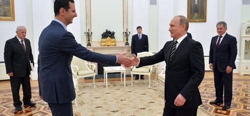 Russia: Syrian president meets Vladimir Putin in Moscow