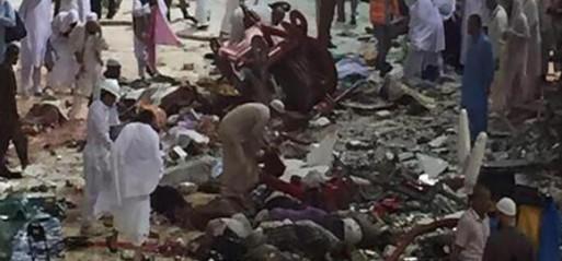 Saudi Arabia: 87 killed as vast construction crane collpases on pilgrims in Makkah