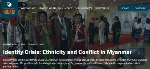 Myanmar must squash ethnonationalism, reports international think-tank
