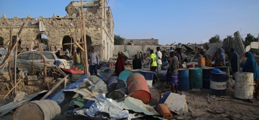 Somalia: Suicide and mortar attacks outside & inside Mogadishu kill 6 civilians