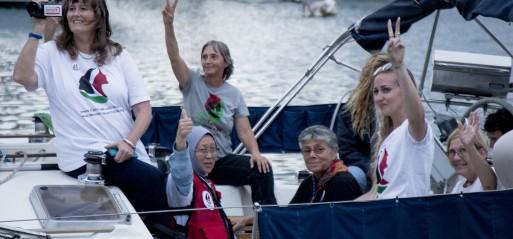 Spain: Women's boats leave Spain to protest Gaza blockade