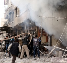 Syria airstrikes kill 53 people in E Ghouta