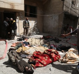 US: US will respond to suspected chemical attack in Douma