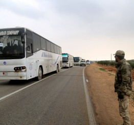 Syria: 18th convoy from E Ghouta arrives in Al-Bab as Govt takes control of Douma