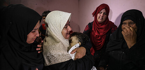 Palestinians mowed down by Israel as world just watched