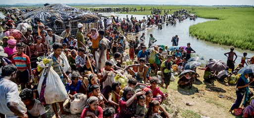 Rohingya Muslim survives after playing dead for days